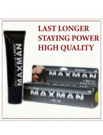 MAXMAN herbal Cream Sex Delay Cream