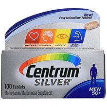Centrum Silver Men (100 Count) Multivitamin 50+
