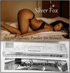Herbal Sex Drops Silver Fox Female aphrodisiac
