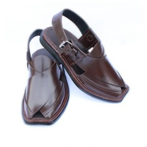 Signature Brown Peshawari Chappal