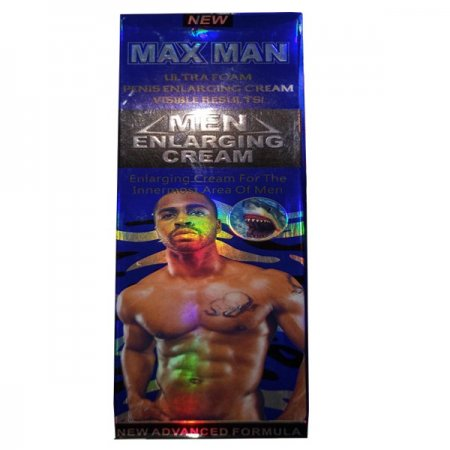 Max Man Ultra Foam Penis Enlarging Cream