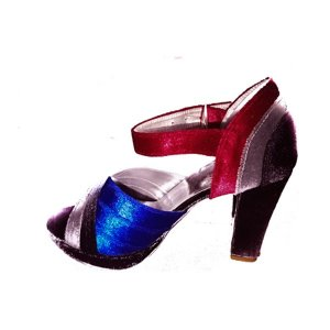 Velvet Heels multi color in Pakistan