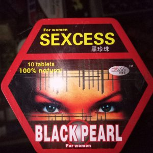 Female Black Pearl Sexcess Tablets
