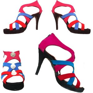 Multi Color Regular High Heels in Pakistan