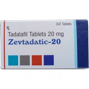Zevtadatic Tadalafil 20mg in Pakistan