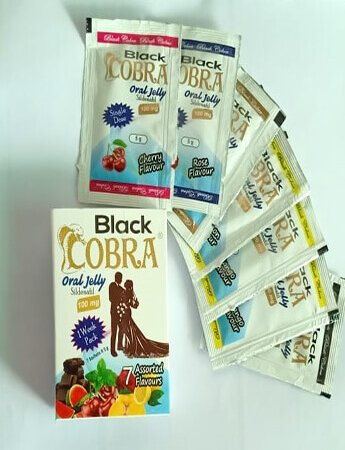 Black Cobra oral jelly in Pakistan