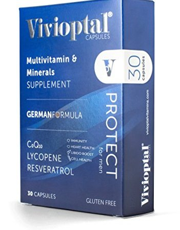 Vivioptal Protect For Men 30 Capsules imported