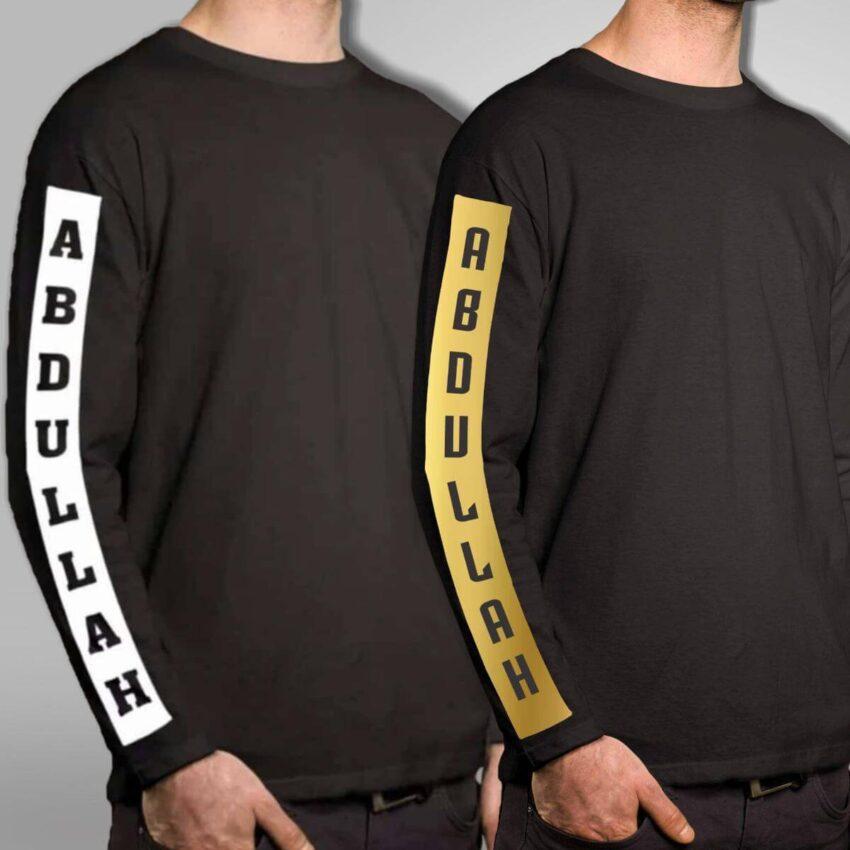 Customize Full Arm Shirt