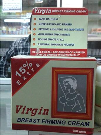 Virgin breast firming cream in pakistan