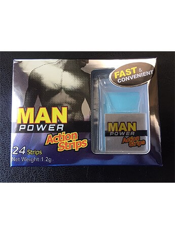 Man Power Strips Erection, Impotence