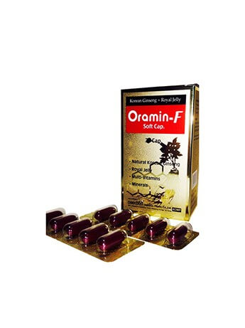 Oramin-F Soft Capsule with Korean Ginseng