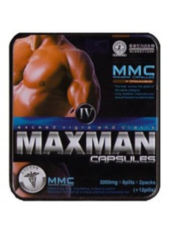 Maxman 4 (sex products) Male Supplement