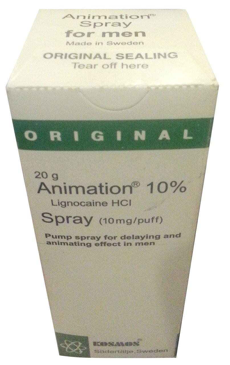 Animation Original Spray For Men