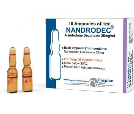 Nandrodec 25Mg Injection in Pakistan