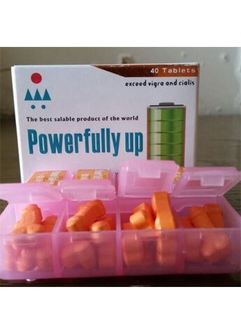 Powerfully up 40 tablets