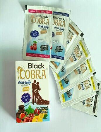 Black Cobra oral jelly in Pakistan