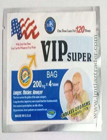 VIP Super American Pills Bag 200 Mg In Pakistan