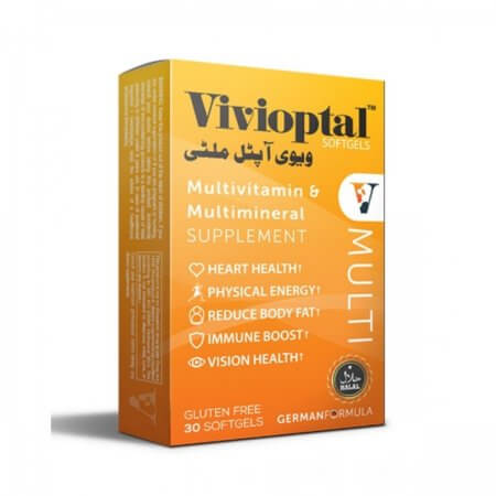 •Vivioptal Multi Local cash on delivery  To maintain good heart health • To support good eye health • In energy metabolism and well being •  keep skin healthy • To maintain a healthy active mind
